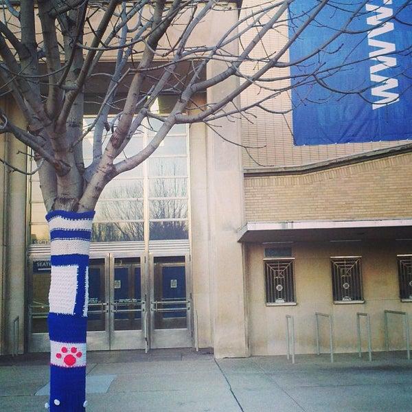 Photo taken at Memorial Coliseum by University of Kentucky on 2/12/2013