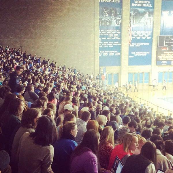 Photo taken at Memorial Coliseum by University of Kentucky on 11/11/2014