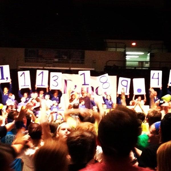 Photo taken at Memorial Coliseum by University of Kentucky on 2/24/2013