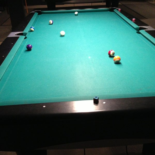 Photo taken at Pressure Billiards & Cafe by Eric M. on 2/15/2013