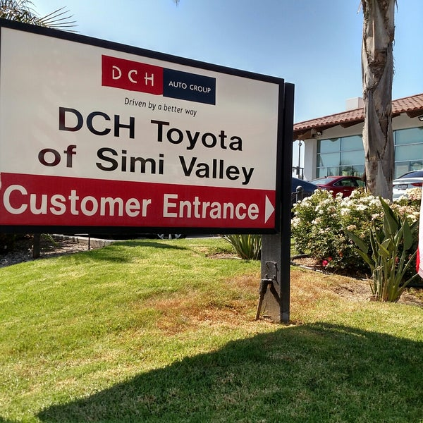 Photo taken at DCH Toyota of Simi Valley by Frank M. on 7/29/2017
