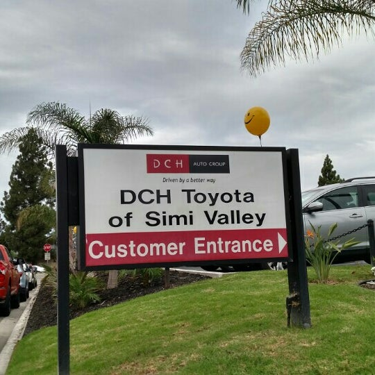 Photo taken at DCH Toyota of Simi Valley by Frank M. on 9/12/2015