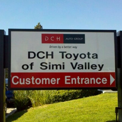 Photo taken at DCH Toyota of Simi Valley by Frank M. on 2/9/2013