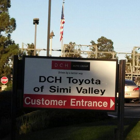 Photo taken at DCH Toyota of Simi Valley by Frank M. on 10/19/2013