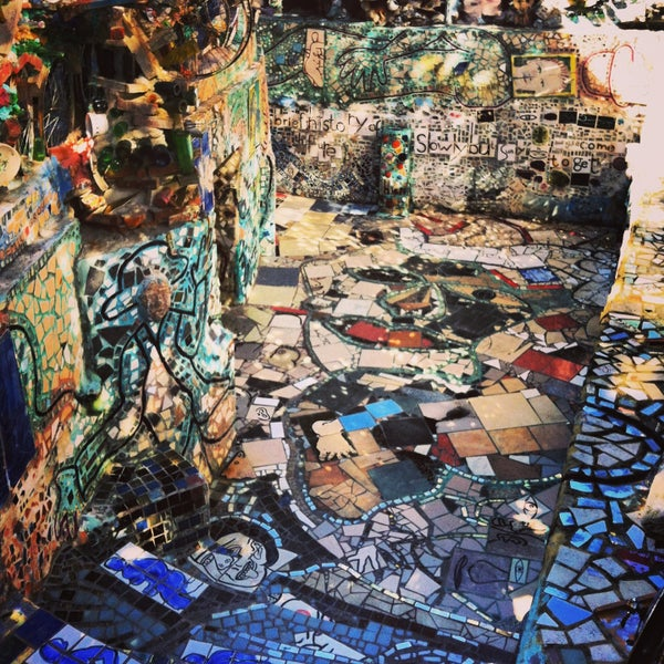 Photo taken at Philadelphia's Magic Gardens by Noelia d. on 5/5/2013