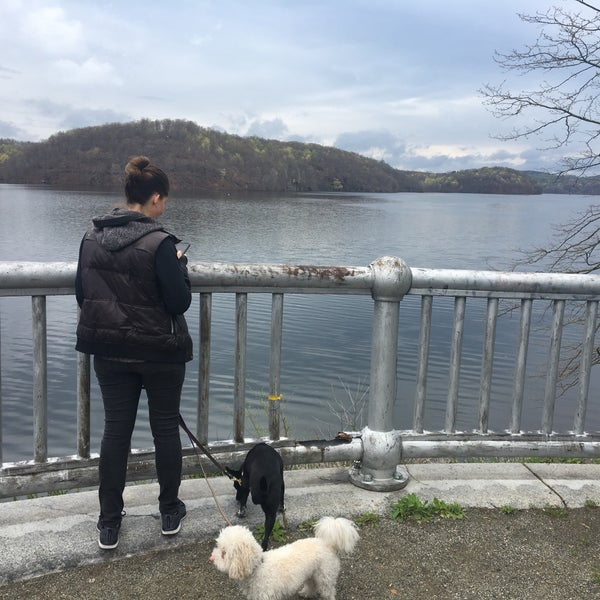 Photo taken at Croton Gorge Park by Stephanie P. on 4/22/2017