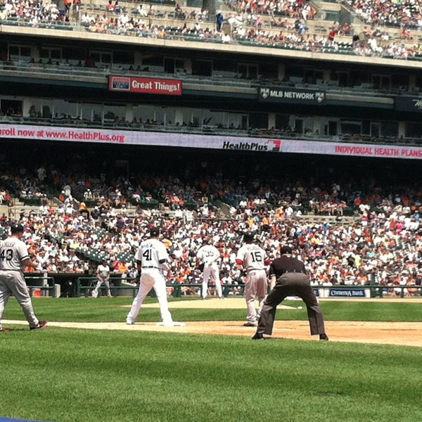 Photo taken at Comerica Park by Bobby F. on 6/23/2013