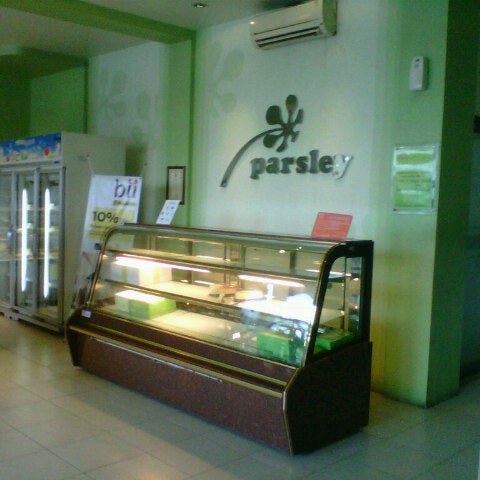 Photo taken at Parsley Bakery & Cake Shop by Wawan S. on 5/5/2013
