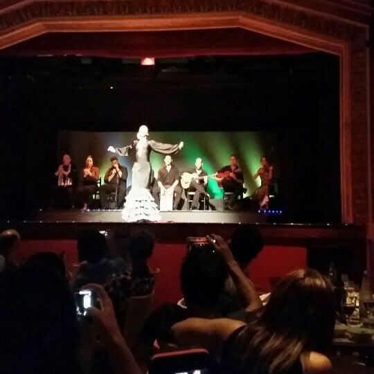 Photo taken at Palacio del Flamenco by Asena Ş. on 8/26/2015