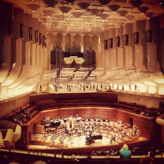 Photo taken at Louise M. Davies Symphony Hall by Susan O. on 10/19/2012