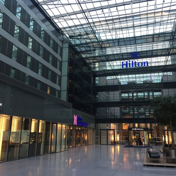 photo taken at hilton garden inn frankfurt airport by ilker on 2262017 - Hilton Garden Inn Frankfurt Airport