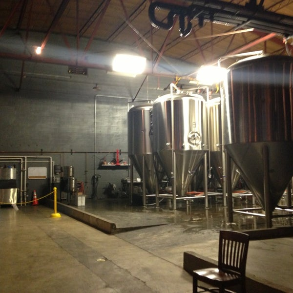 Photo taken at Good People Brewing Company by Barbie G. on 3/23/2013