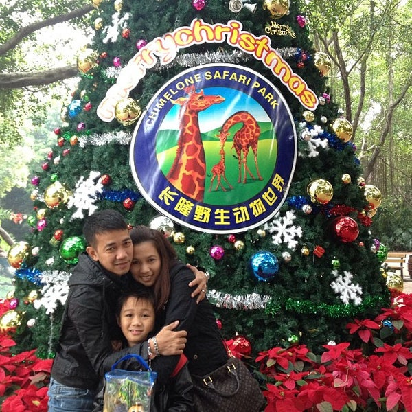 Photo taken at Xiang Jiang Safari Park, Guangzhou by Maryll M. on 12/21/2012