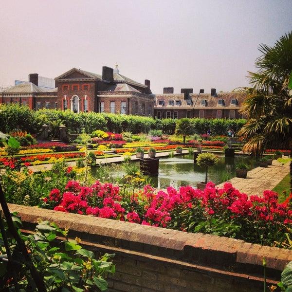 Photo taken at Kensington Gardens by Cigdem S. on 7/12/2013