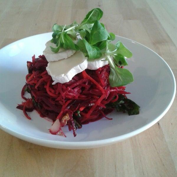 Perfektní misto na vegetariánský oběd!