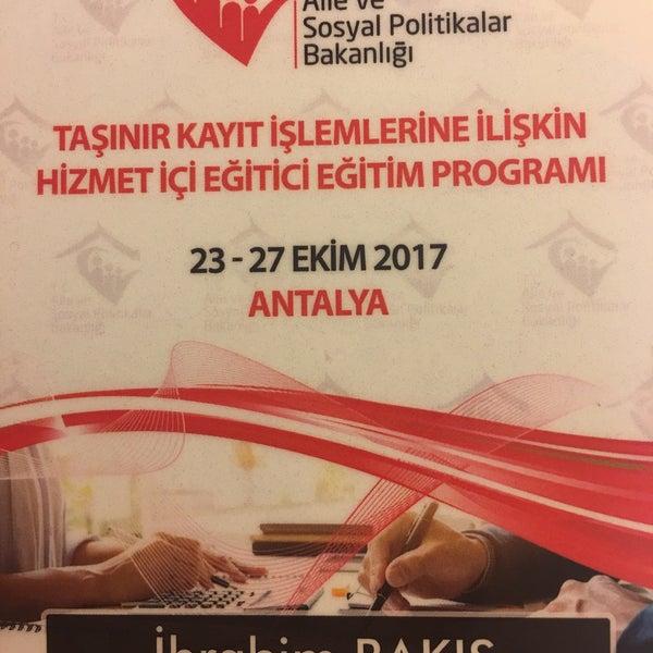 10/22/2017 tarihinde İbrahim B.ziyaretçi tarafından LykiaWorld & LinksGolf Antalya'de çekilen fotoğraf