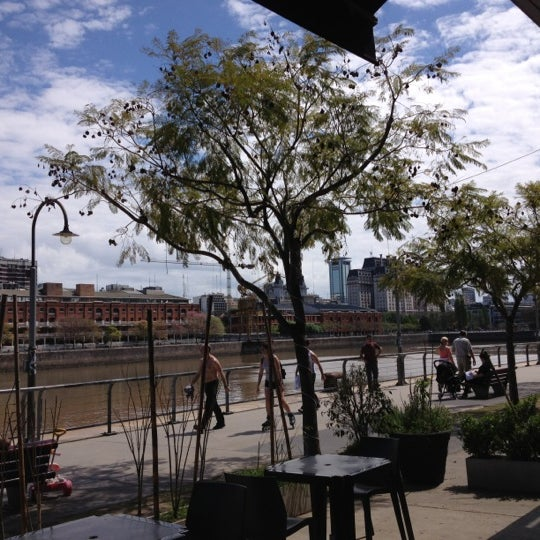 Photo taken at Puerto Madero by Moniky T. on 10/14/2012
