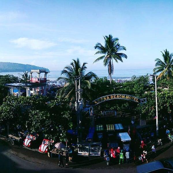 Photo taken at Pantai Barat Pangandaran by fahmi g. on 12/17/2016
