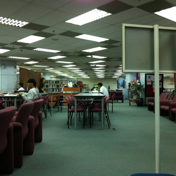 Photo taken at National Library (Perpustakaan Negara) by Afif R. on 1/13/2013