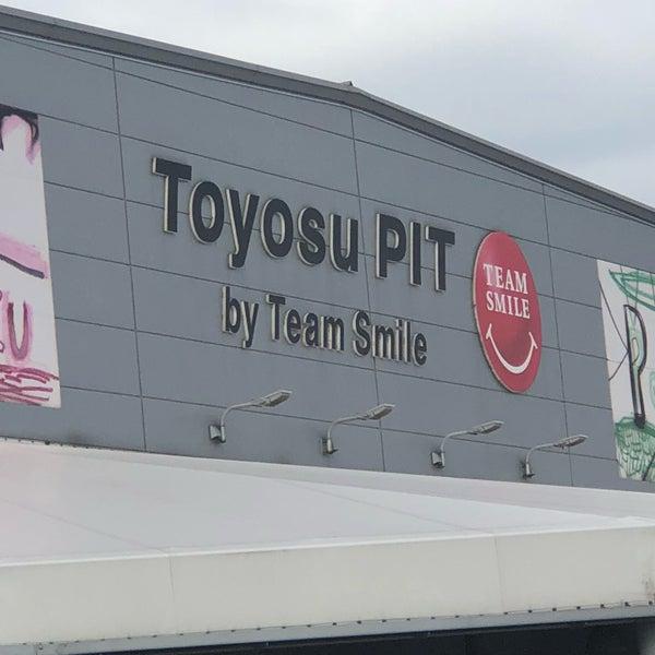 10/14/2018にコバがチームスマイル・豊洲PITで撮った写真