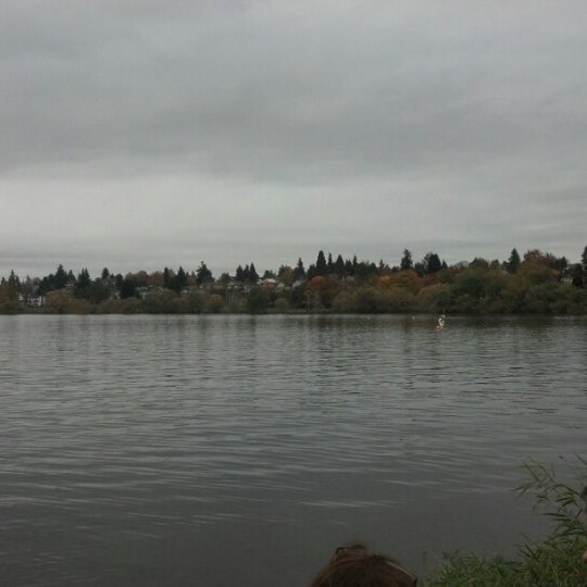 Photo taken at Green Lake Boathouse by Kathleen B. on 11/3/2012