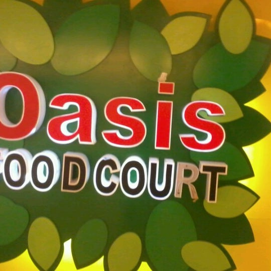 Photo taken at Oasis Food Court by Synthetic on 10/21/2012