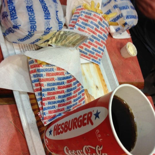 Photo taken at Hesburger by Edgars K. on 11/8/2012