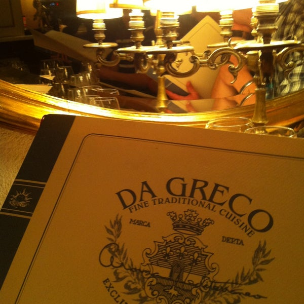 Photo taken at Da Greco by Valerie on 5/15/2013