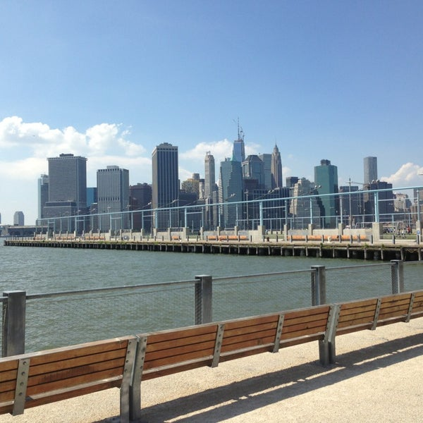 Photo taken at Brooklyn Bridge Park - Pier 6 by Kendall D. on 6/1/2013