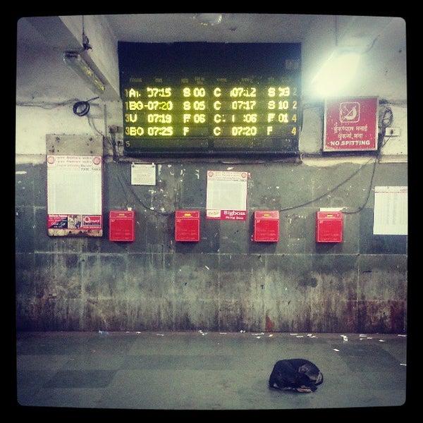 Photo taken at Dadar Railway Station by Schmmuck on 3/10/2013