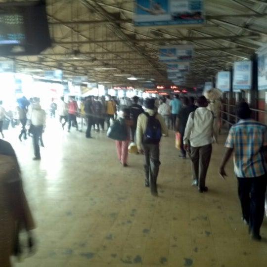 Photo taken at Dadar Railway Station by Schmmuck on 10/14/2012