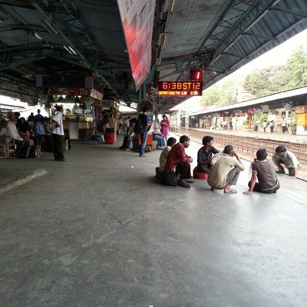 Photo taken at Dadar Railway Station by Schmmuck on 5/18/2013