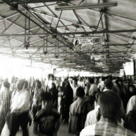 Photo taken at Dadar Railway Station by Schmmuck on 1/26/2013