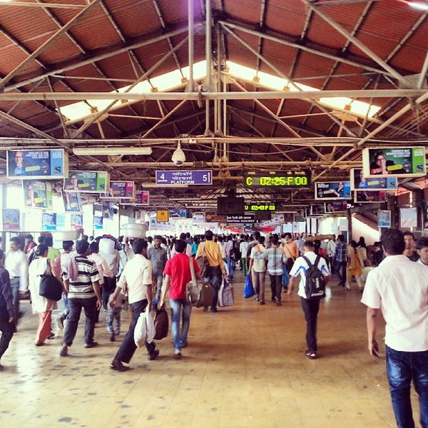 Photo taken at Dadar Railway Station by Schmmuck on 9/8/2013