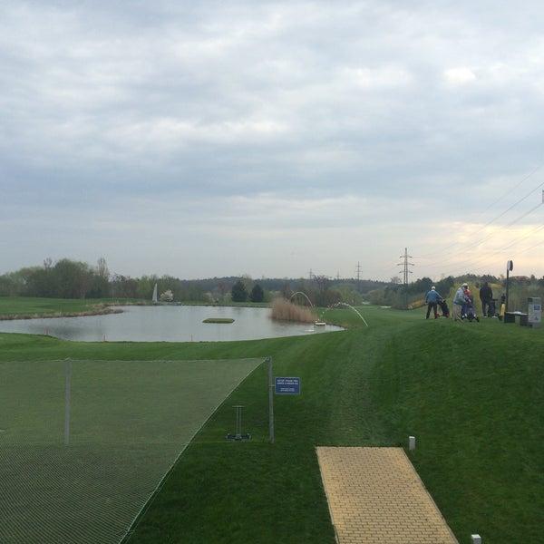 Photo taken at Golf Hostivař by Milan D. on 4/13/2016