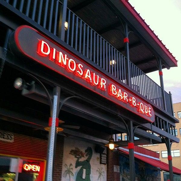 Photo taken at Dinosaur Bar-B-Que by Pat M. on 9/22/2012
