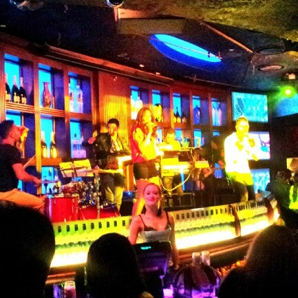 Photo taken at Blue Martini Brickell by J F. on 9/21/2012