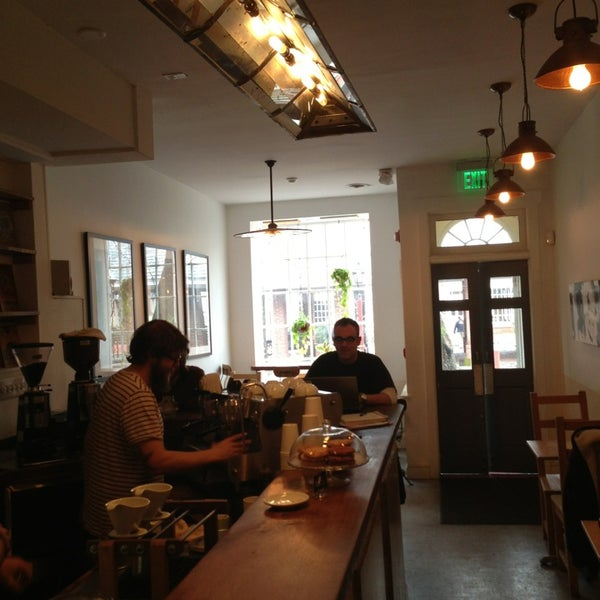 Photo taken at Bodhi Coffee by Ted X. on 1/29/2013