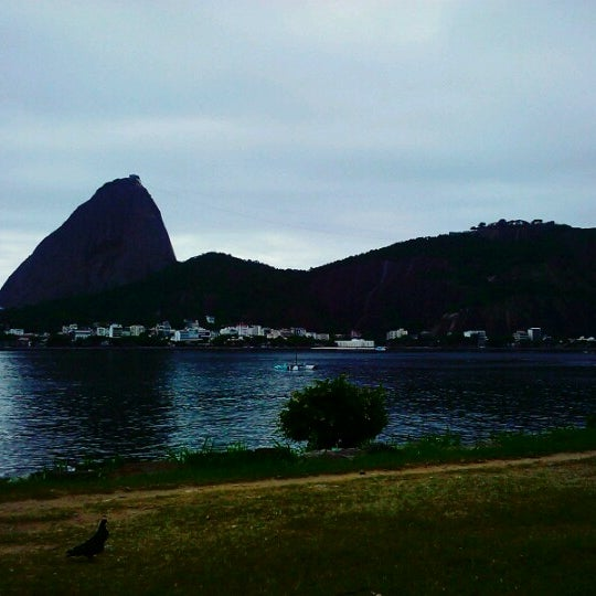 Photo taken at Flamengo Park by Kariane P. on 12/10/2012
