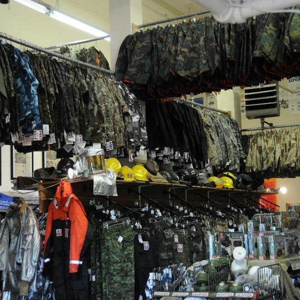 For the adventure seekers in the back streets of New Westminster, BC. Come in and check out all the one-of-a-kind military items and new airsoft gear.