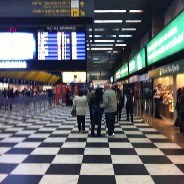 Снимок сделан в Международный аэропорт Конгоньяс/Сан-Паулу (CGH) пользователем Carol B. 7/10/2013