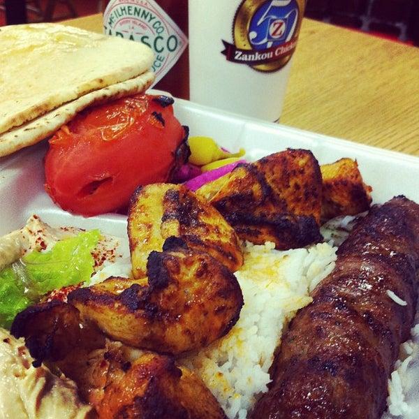 Photo taken at Zankou Chicken by Adrian T. on 1/13/2013