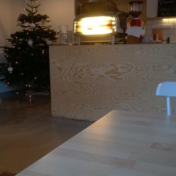 Photo taken at Mikyna Coffee & Food Point by Matěj M. on 12/23/2015