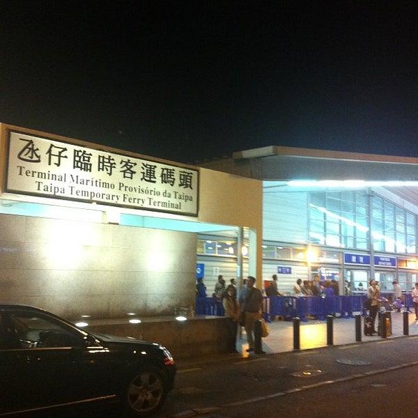 Photo taken at Taipa Ferry Terminal by Yiwei M. on 3/1/2013