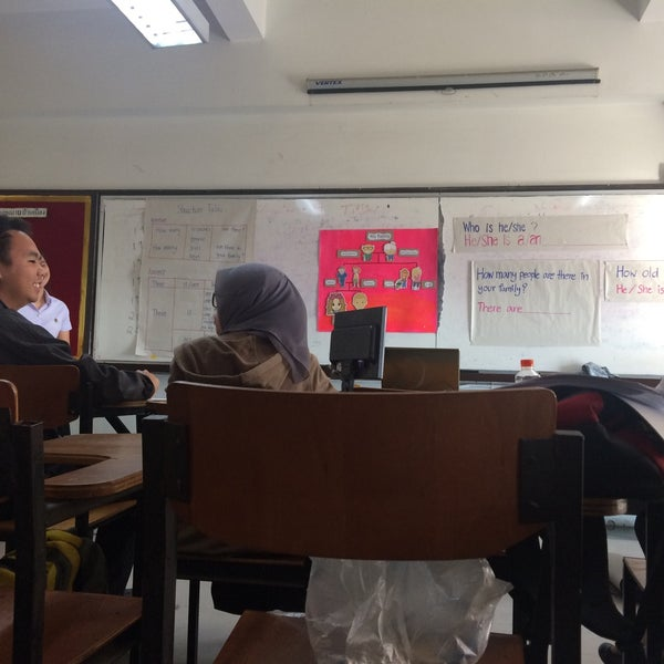 Photo taken at Chiang Mai Rajabhat University by น้องแพรว ค. on 1/9/2018