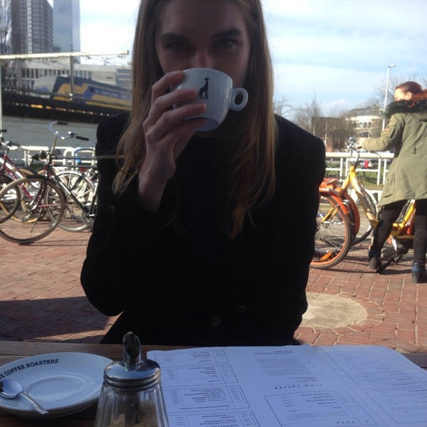 Photo taken at Lokaal Espresso by Tim d. on 3/1/2014