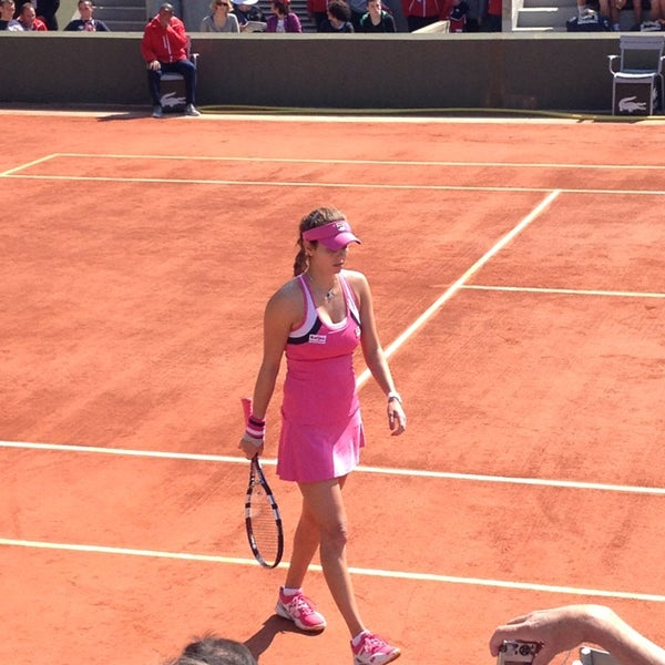Photo taken at Stade Roland Garros by Ludovic B. on 5/27/2013