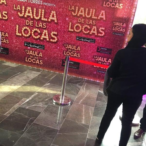 Foto tomada en Teatro Hidalgo por Guillermo D. el 2/11/2018