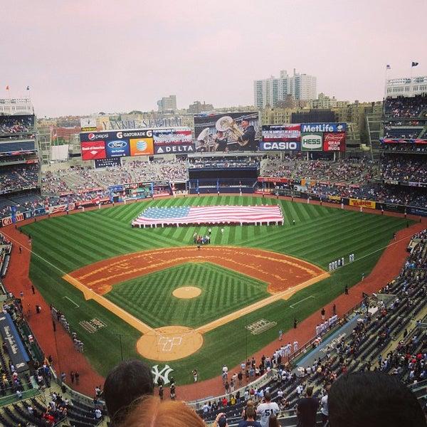 Photo taken at Yankee Stadium by E3Neenz on 7/13/2013