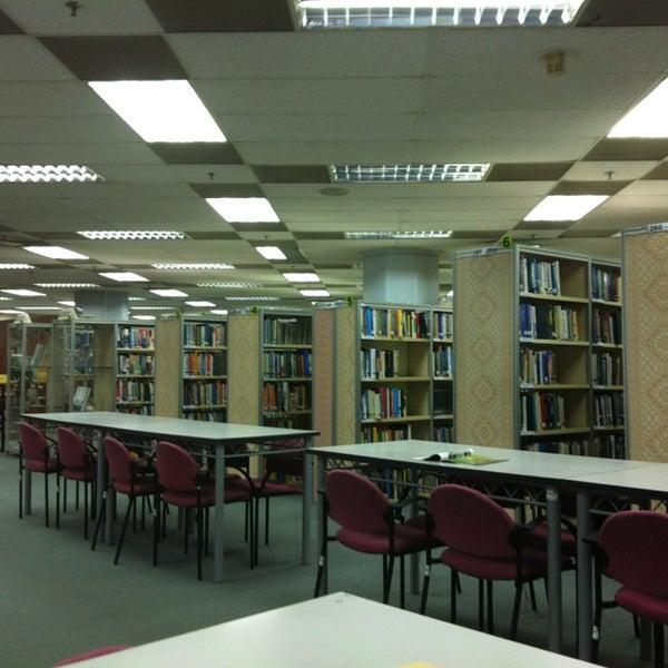 Photo taken at National Library (Perpustakaan Negara) by Azri on 2/3/2013